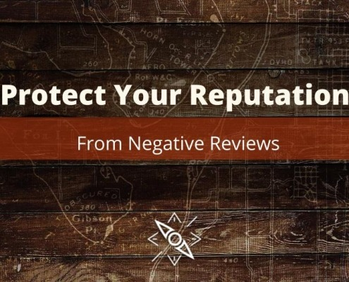 How to Protect your reputation from negative reviews