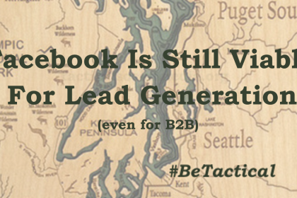 Facebook is Still Viable For B2B Lead Generation. Facebook might not be the best choice for your brand, but the decision as to whether it is shouldn't be based on the notion it can't or doesn't work for B2B firms.