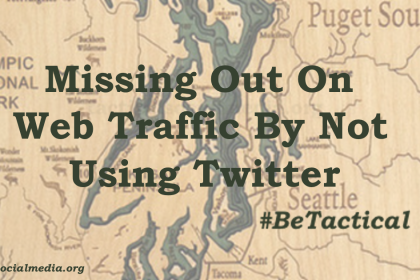 Are you missing out on driving traffic to your website by not using Twitter? #BeTactical