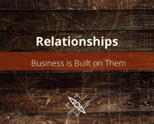 Business is built on relationships