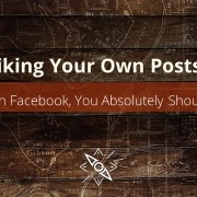 Liking your own Facebook posts as yourself is an effective practice to create reach if you publish well-written, valuable content relevant to your audience