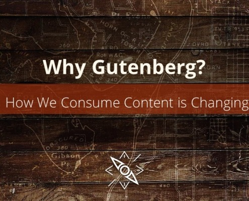 Why Gutenberg? It isn't the new editor. Its more than a way to create content. It goes to the heart of why we have WordPress...and you need to embrace it.