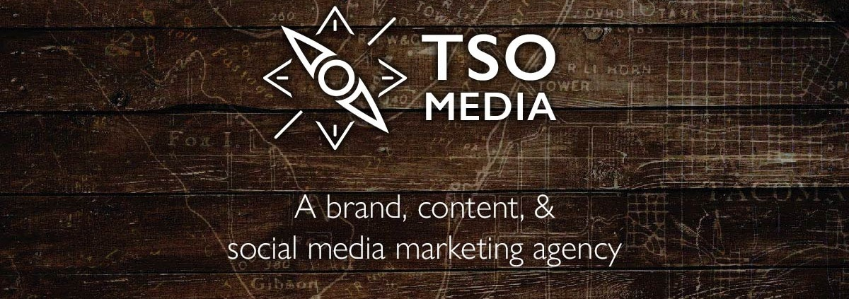 TSO Media: A brand, content, & social media marketing agency helping clients navigate and manage their online marketing: Strategy through consulting and blueprint service, management, training, education, and speaking