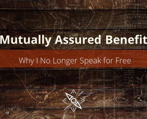 Why I No Longer Speak for Free